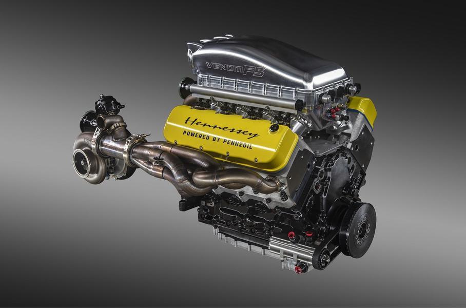 Hennessey раскрыла мощность установки гиперкара Venom F5