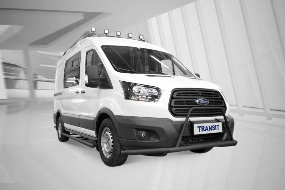 Ford выпустила спецверсию Ford Transit для охотников и рыболовов