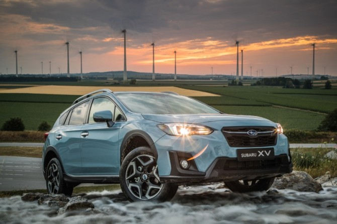 Новый Subaru XV 2018 выходит на рынок России