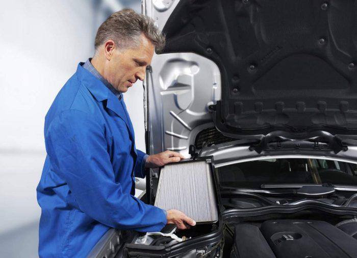 Частота замены салонного фильтра в автомобиле
