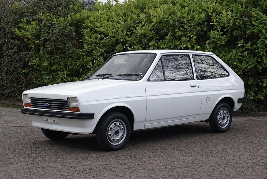 40-летний Ford Fiesta почти без пробега будет продан на аукционе