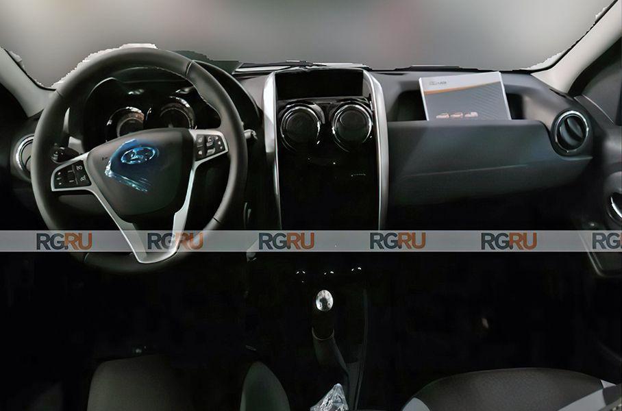 Опубликовали первые фото интерьера Lada Largus Facelift