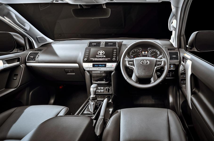Toyota обновила Toyota Land Cruiser Prado для рынка Японии