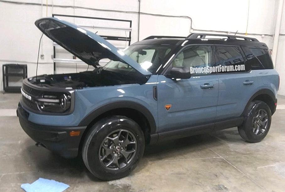Появились фото возрожденного Ford Bronco Sport