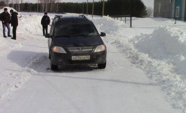 """""""Лада Ларгус"""" в Малмыжском районе сбила пенсионерку-нарушительницу"""