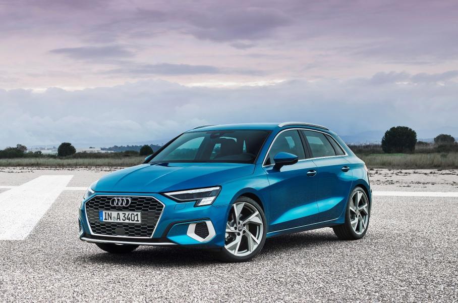 Audi представила новый хэтчбек Audi A3 Sportback