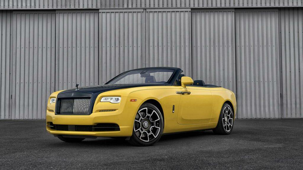 Rolls-Royce для топ-менеджера Google создала особый кабриолет Dawn