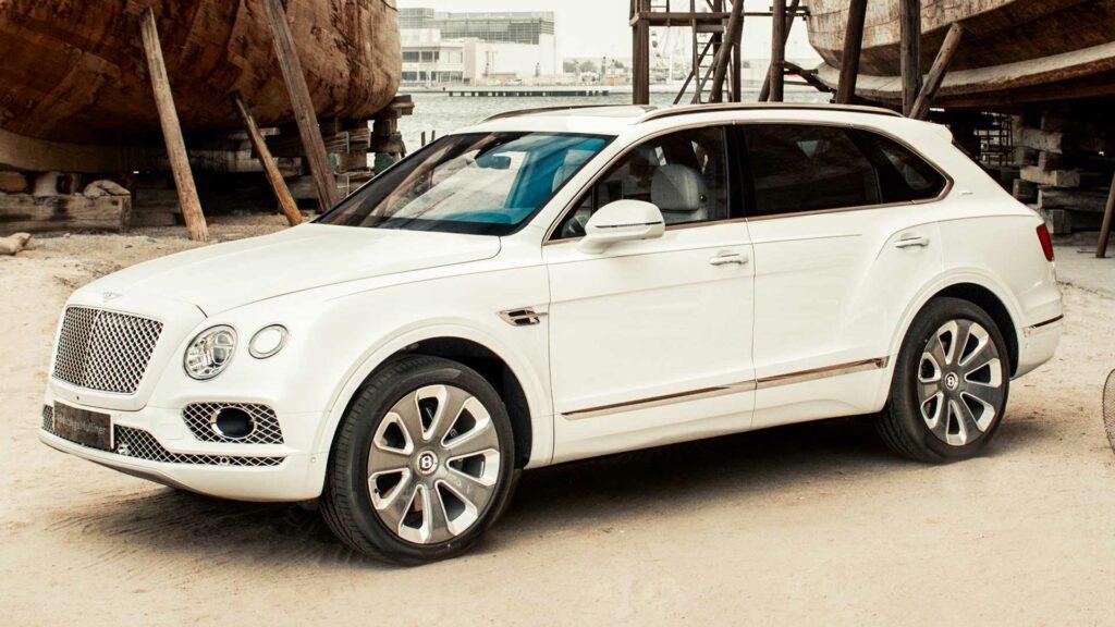 Bentley посвятила новую версию Bentley Bentayga добыче жемчуга