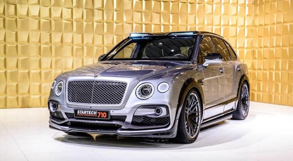 Тюнинг-ателье Startech представило 710-сильный Bentley Bentayga
