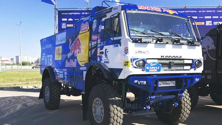 Опубликована первая фотография нового гоночного грузовика КамАЗ