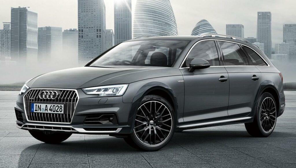 Audi разработала лимитированную серию A4 Allroad Absolute