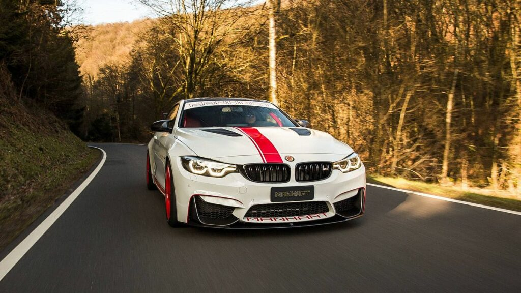 Тюнинг-ателье Manhart представило 550-сильный BMW M4 Coupe