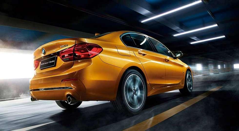 Компактный BMW 1-Series Sedan все же выбрался за пределы Китая