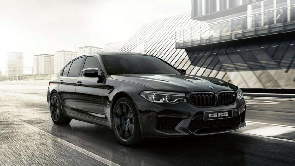BMW представила в Японии особую версию седана BMW M5