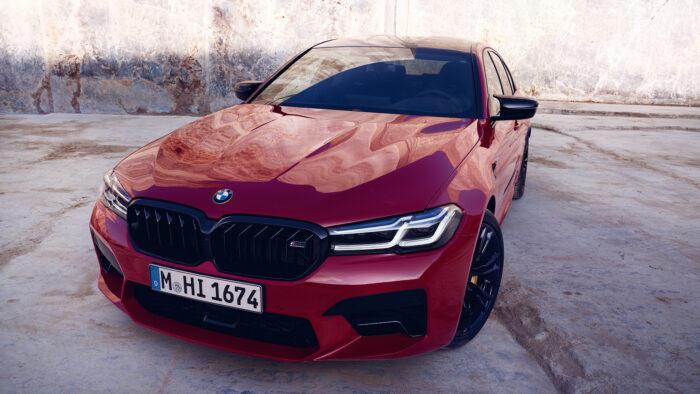 Обновленный BMW5серии