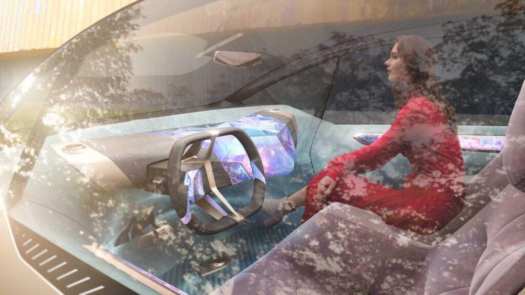 IAA Mobility: BMW представила концепт электрокара Circular из вторсырья