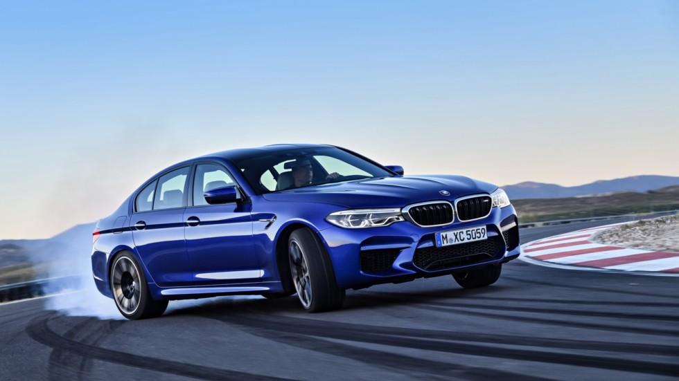 Седан BMW M5 получит 625-сильную версию M5 Competition Package