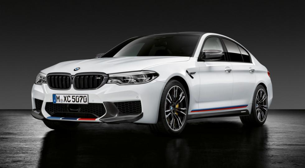 BMW назвала цены на «заряженный» седан BMW M5 для России
