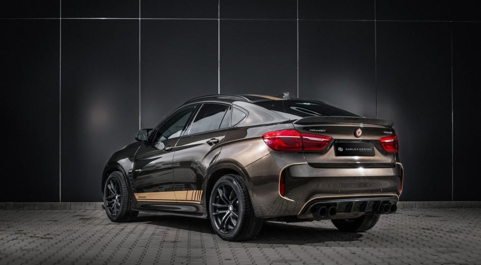 Тюнеры представили 800-сильный BMW X6 с уникальным салоном