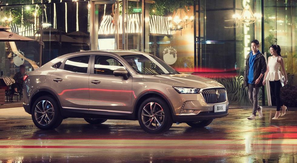 Немецко-китайский внедорожник Borgward BX6 получил официальный ценник