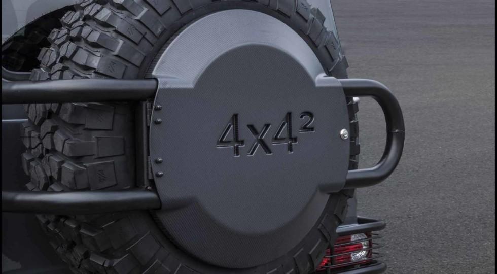 Тюнинг-ателье Brabus подготовило экстремальный внедорожник G550 4x4