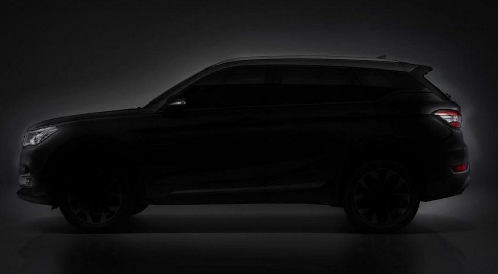 Китайский производитель Brilliance анонсировал выход нового кроссовера V6