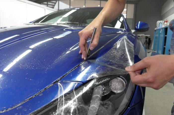Антигравийная обработка автомобиля. Варианты и способы