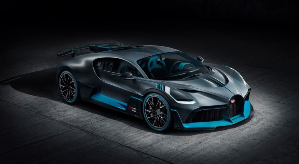 Новейший гиперкар Bugatti Divo представлен официально