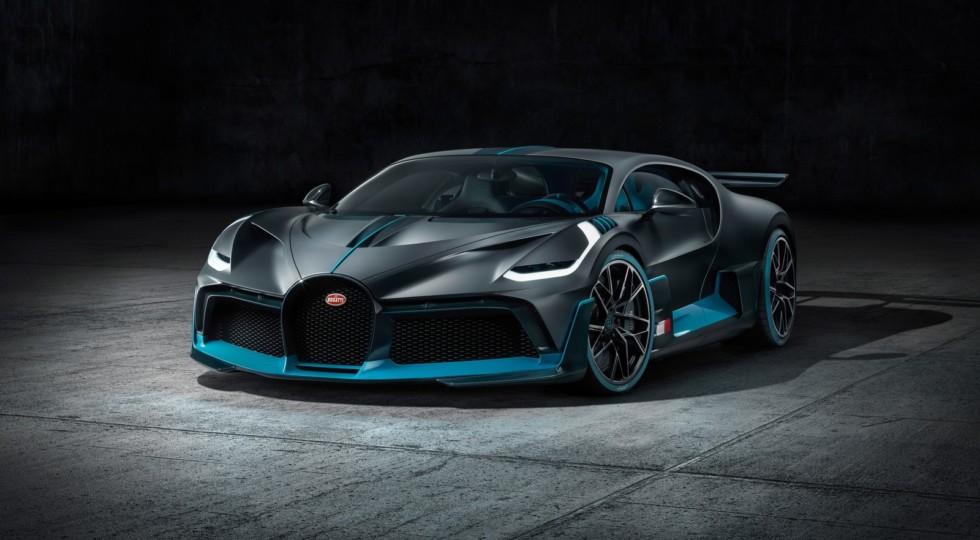 Еще не построенный гиперкар Bugatti Divo появился в продаже