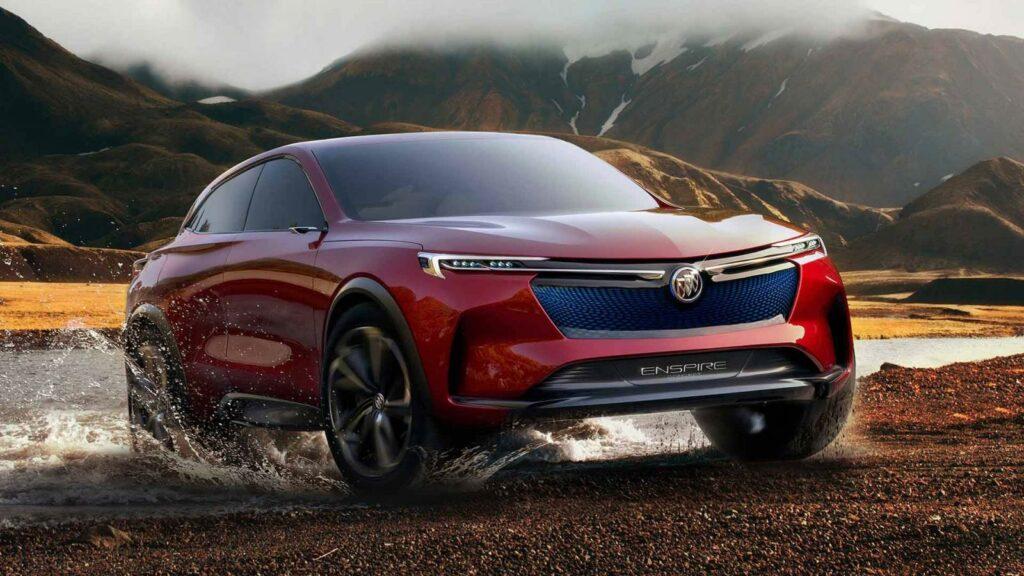 Компания Buick показала электрический кроссовер Buick Enspire