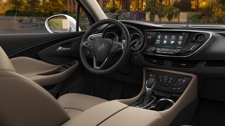 Представлена новая версия кроссовера Buick Envision