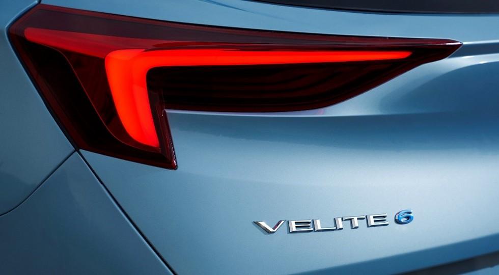 Компания Buick анонсировала выход свежей модели Velite 6