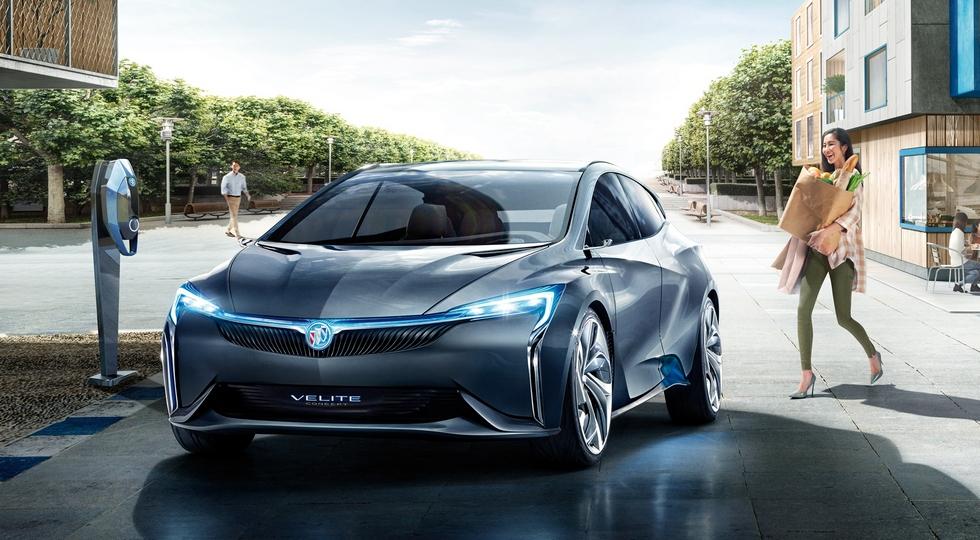 Buick анонсировал выход новой серийной модели Buick Velite 6