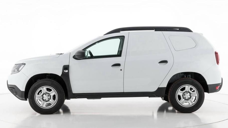 Новый кроссовер Renault Duster превратили в фургон Duster Fiskal