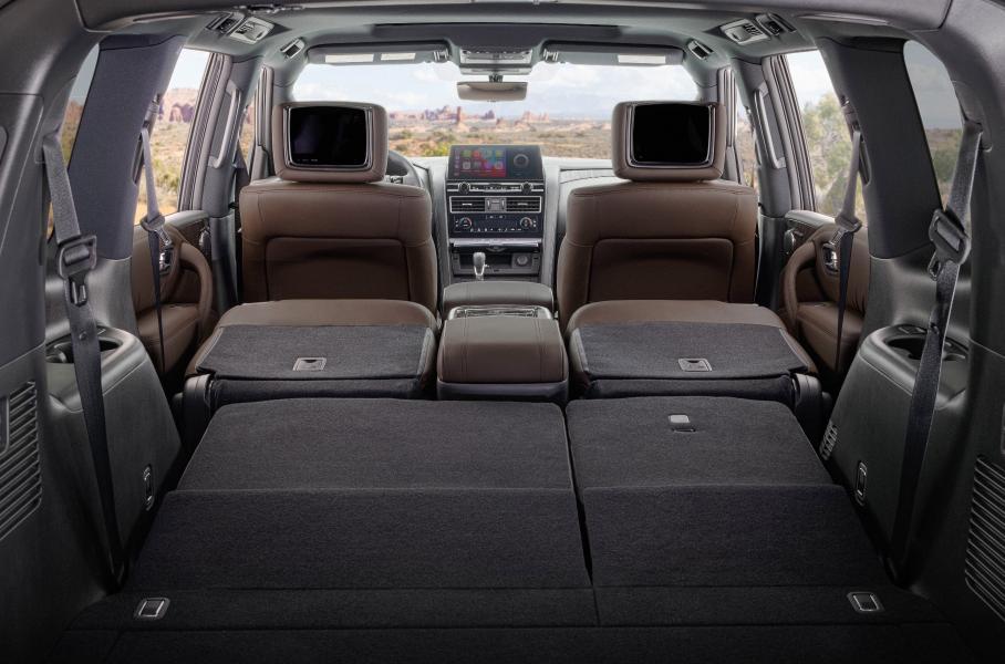 Компания Nissan презентовала обновлённый внедорожник Armada