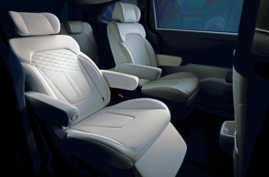 Компания Hyundai выпустила новый минивэн Custo для китайского рынка