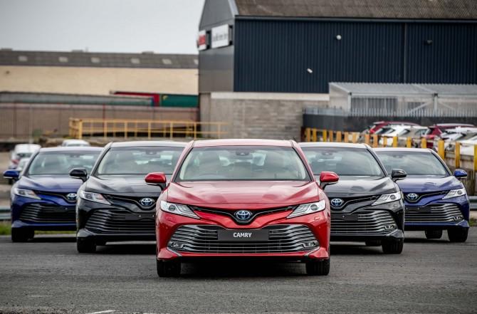 Toyota продала в России 400-тысячную Toyota Camry