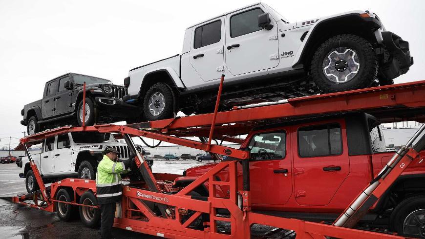 Первые пикапы Jeep Gladiator отправлены к дилерам