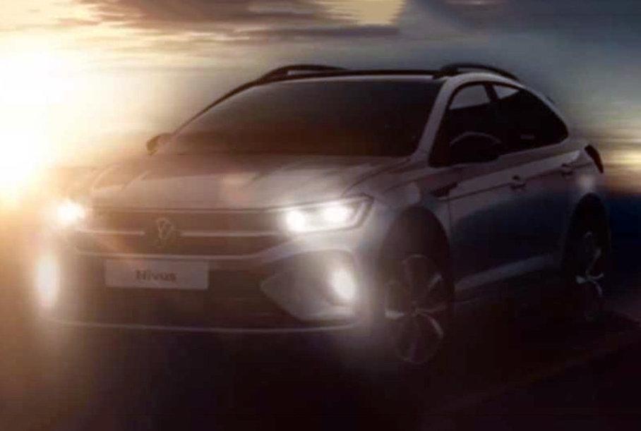 Внешность Volkswagen Nivus раскрыли до премьеры
