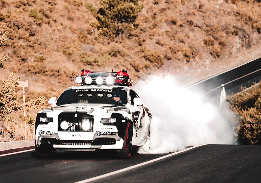 Уникальное купе Rolls-Royce Wraith выставили на продажу в Нидерландах