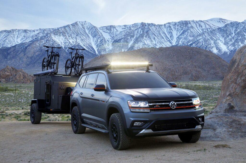 Компания Volkswagen выпустила спецверсию внедорожника Atlas