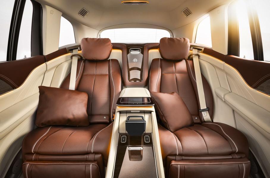 Стала известна цена внедорожника Mercedes-Maybach GLS в России