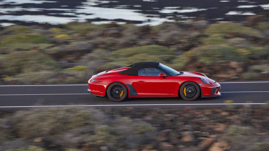 Porsche 911 Speedster стал доступен для заказа на рынке РФ