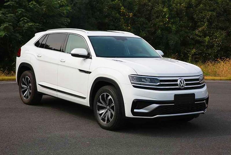 Появилась первая информация о кроссовере Volkswagen Teramont Coupe