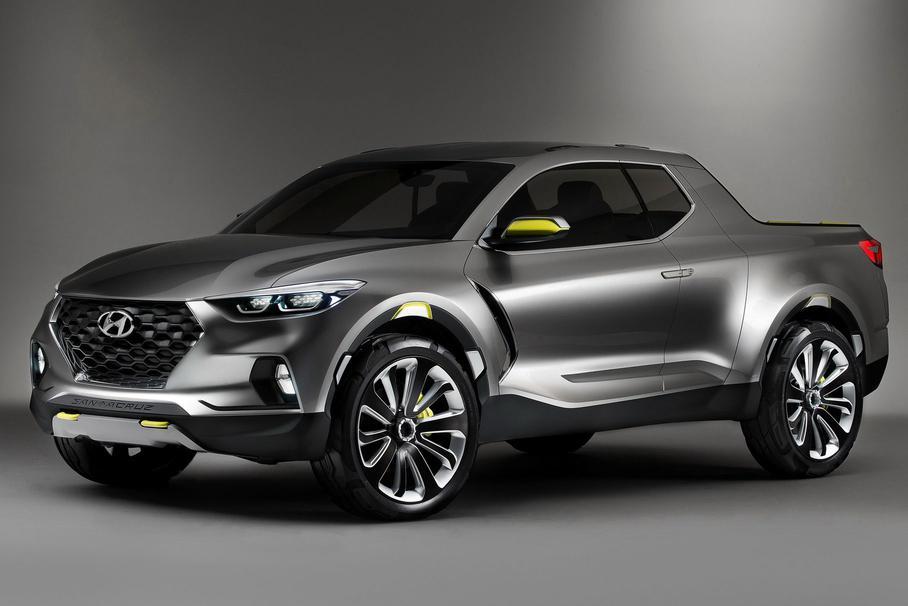 Новый пикап Hyundai Santa Cruz начнут выпускать в 2021 году