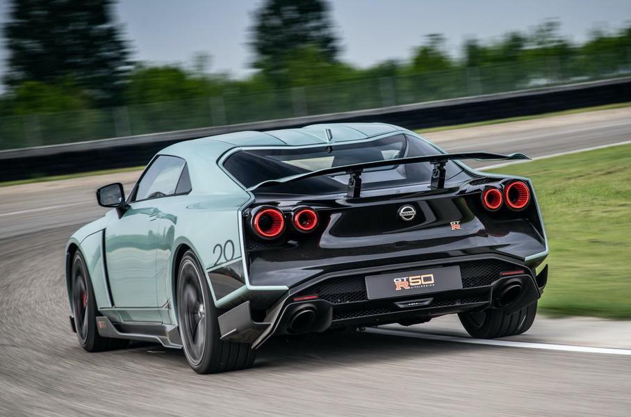 Студия Italdesign представила Nissan GT-R50 за 78 млн рублей