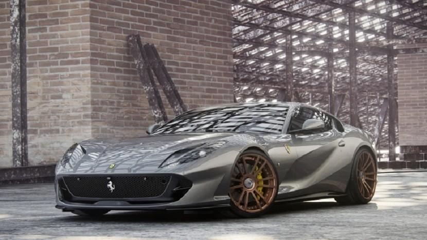 Тюнеры показали 820-сильный суперкар Ferrari 812 Superfast