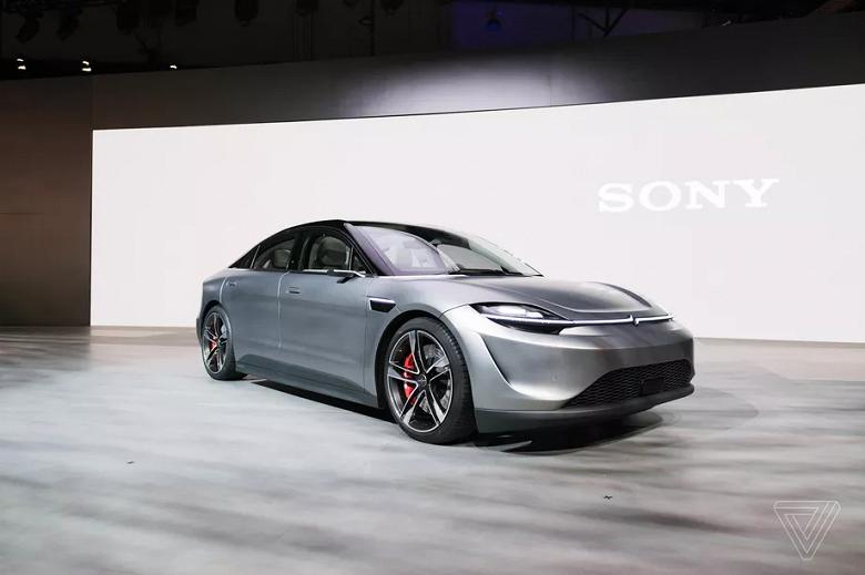 Компания Sony показала свой электромобиль Vision-S