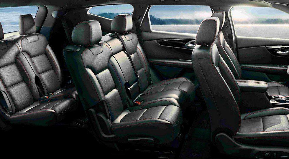 Chevrolet раскрыла интерьер нового Chevrolet Blazer