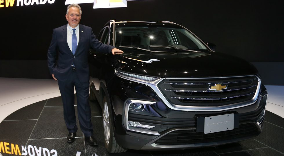 Chevrolet представил новый кроссовер Captiva на базе Baojun 530
